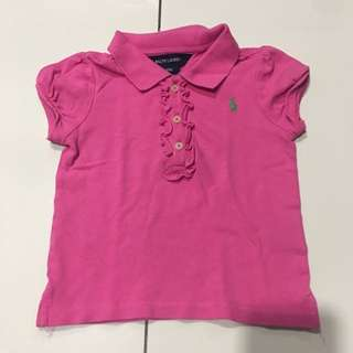 Ralph Lauren polo T with frills