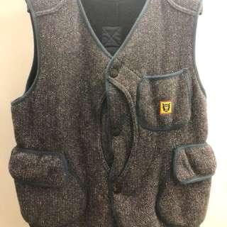 Brown Beach X Human Made Vest ( RRL Levis Toys mccoy )