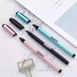 9成7新玫瑰金墨水鋼筆