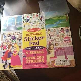 Sticker book [over 200 stickers]