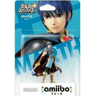 Nintendo Amiibo Smash Bros. Series Figure Marth Wii U 3DS