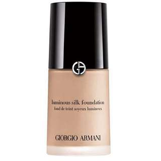 Giorgio Armani luminous silk foundation shade 4 golden light