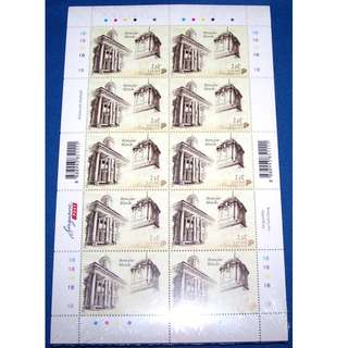 🚚 2010 Singapore National Monuments NVI 100 Full Sheet MNH Original Wrapping (Fixed Price)