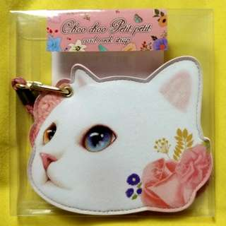 Jetoy Choo Choo Cat (Pink Rose) - 掛頸八達通套
