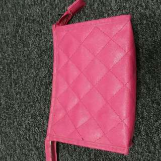 REPRICING Pink Pouch