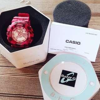 G-Shock BA110LP-4A Baby-G Pink Series Luxury Watch - Pink / One Size