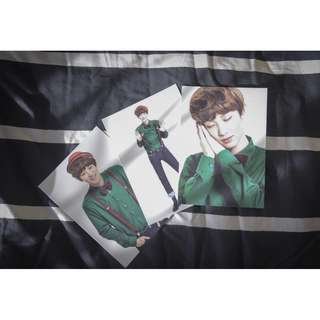 Chanyeol Photocards (Christmas Day)