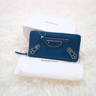 Balenciaga Blue wallet