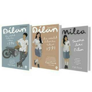 E-book novel dilan 3 series