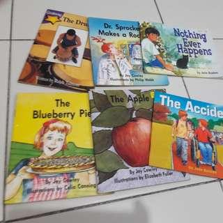 assorted preschool English children book