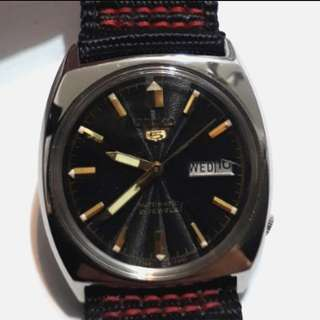 SEIKO 5 AUTOMATIC WATCH 6309-8670