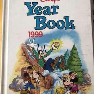 📚 Disney's Year Book 1998 & 1999