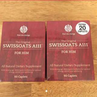 Brand New Swissoats For Him 80caps