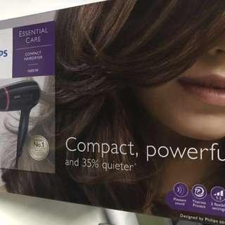 BNIB Philip Compact Hair Dryer 1600W
