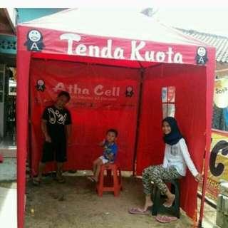 Tenda kafe bazar