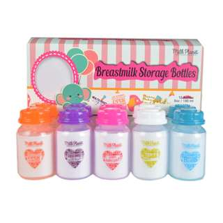 MILK PLANET CELEBRATING MOM'S LOVE EDITION BREASTMILK STORAGE BOTTLES
