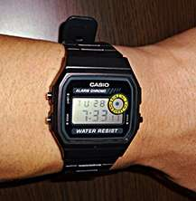 Casio Classic Digital Watch F94WA-8D - Black - 100% Genuine & Brand New