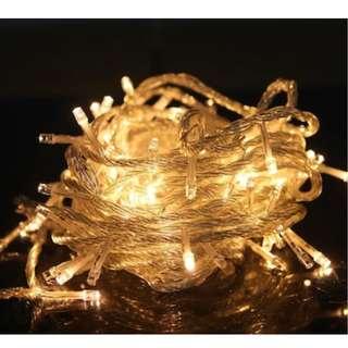 🎉cheapest 100 Led Light Bulb 10 Metres Power Plug