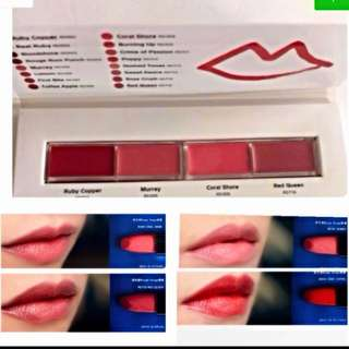 🙀CRAZY $6.80 SALE🙀 😍GET ALL 4 AMAZING BEAUTIFUL COLORS @ ONLY $9.80!!! WA, GRAB ME NOW!!!🙀👄Shiseido Makeup Rouge Rouge Palette