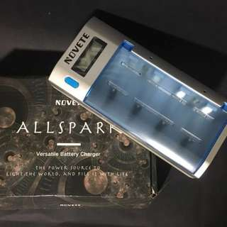 BNIB Novete Allspark Universal and Versatile Battery Charger
