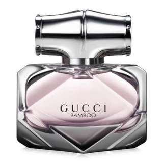 GUCCI BAMBOO FOR WOMEN EDP 75ML @ S$88