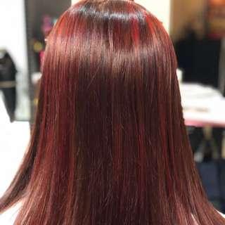 Salon premium hair treatment