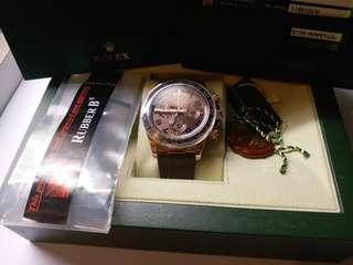 (Sold)Rolex 116515 LN Daytona 朱克力面亂碼卡95新