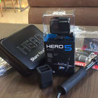GoPro 5 black(含多配件)