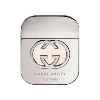 GUCCI GUILTY PLATINUM FOR WOMEN 75ML @ S$88