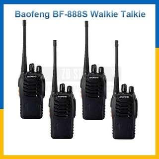 4 unit Walkie Talkie
