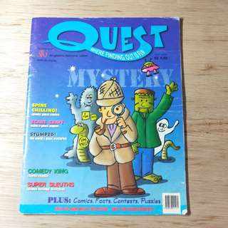 Quest : Where Finding Out Is Fun Magazine Jan 2005 Issue