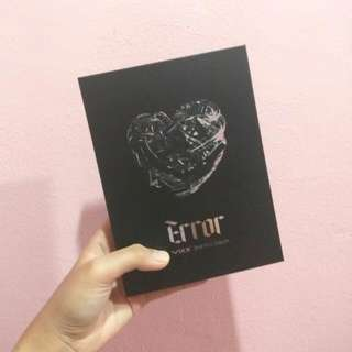 VIXX (빅스) 2nd Mini Album - Error