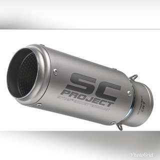 INSTOCK!!! Sc project crt exhaust