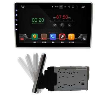 CARDIO 通用型 10.1吋 全觸控 安卓汽車音響主機 (含數位電視與導航)