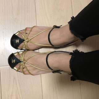 Chanel 涼鞋 size 39