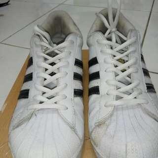 Sneakers Adidas Superstar White Murah