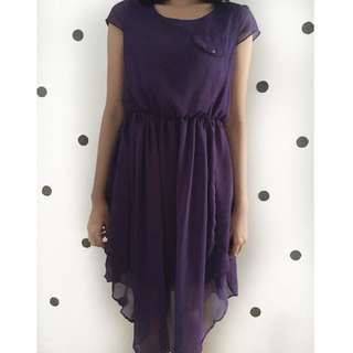 Purple Midy Dress
