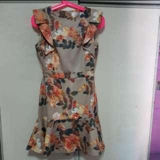 Bysi Floral Dress
