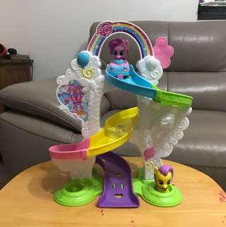 My little pony ride 'n slide