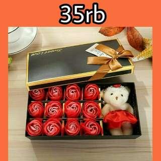 Sabun Bunga Box