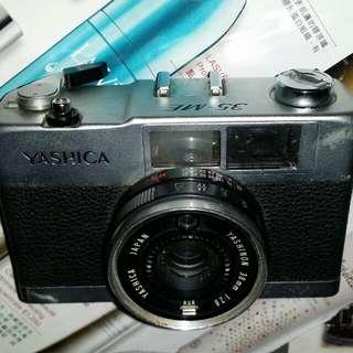 古董Yashica 35-ME, shutter可用但入光孔不能開合,欠電池蓋,合收藏家,屯門交收