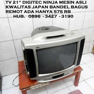 """Tv DiGitec Ninja 21"""" Mesin Asli Kwalitas Japan Bandel Remot ada KATAPANG SOREANG"""