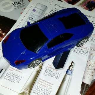 USB 跑車喇叭,mini sd 插,有充電池,屯門交收