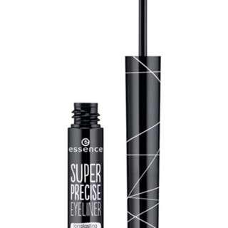 essence super precise black eyeliner. Waterproof.