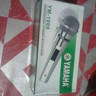 Yamaha mic