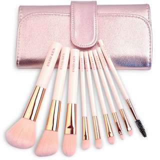 Preorder: 9pc Make Up Brush Set w Pouch
