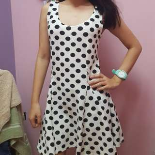 Preloved polka dress