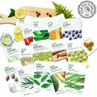 The Face Shop Mask Sheet Real Nature