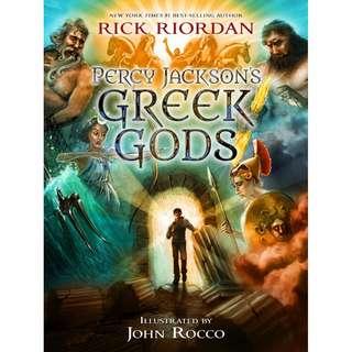 Ebook Percy Jackson's - Greek Gods