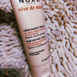 SUPER SALE - PRELOVED NUXE Reve de Miel Hand & Nail Cream 75ml